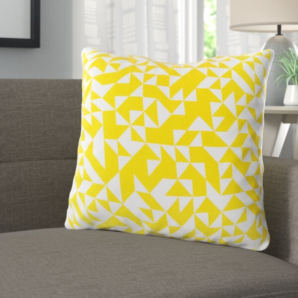 Icon Way 100% Cotton Throw Pillow by Langley Street